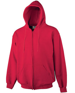 6575 - Augusta 9 oz. Heavyweight Zipper Hooded Sweatshirt