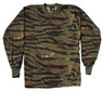 3363 -  Tiger Stripe Camouflage Long Sleeve T-Shirt