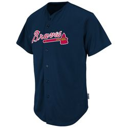 2351 - Braves Cool Base Button Front Jersey