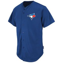 2351 -  Blue Jays Cool Base Button Front Jersey